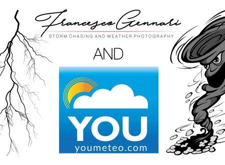 Francesco Gennari and Youmeteo, una nuova collaborazione